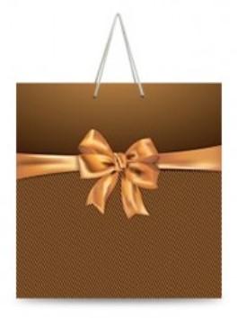 Подарочный квадратный пакет