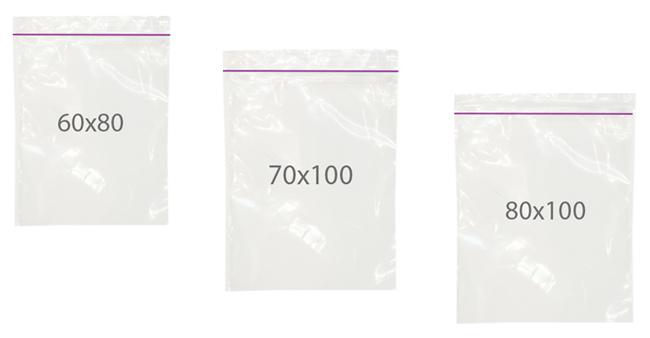 Пакеты с зип защелкой