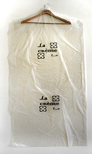 Пакет для одежды с нанесением логотипа