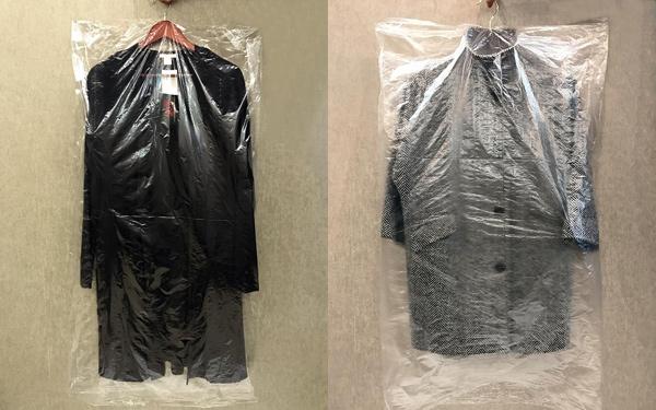 пакеты для верхней одежды