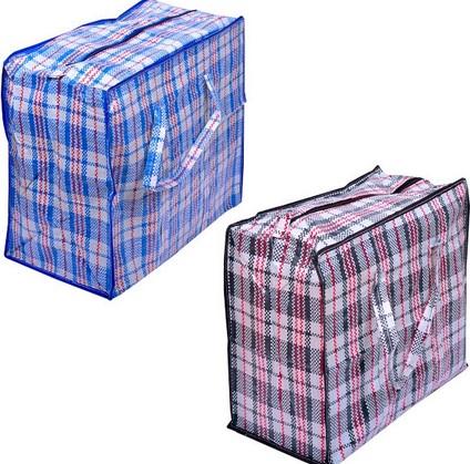 Челночные сумки в клетку