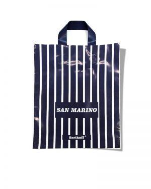 "Пакет с петлевой ручкой тип ""Serikoff"" ""San Marino"" (30х35) 25 шт"