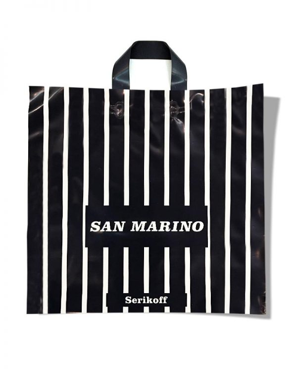 "Пакет с петлевой ручкой тип ""Serikoff"" ""San Marino"" (50х47) 25 шт"