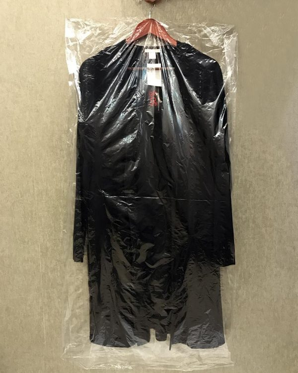Пакет для одежды полиэтиленовый ПВД (63х150) прозрачный 50шт 15мкм