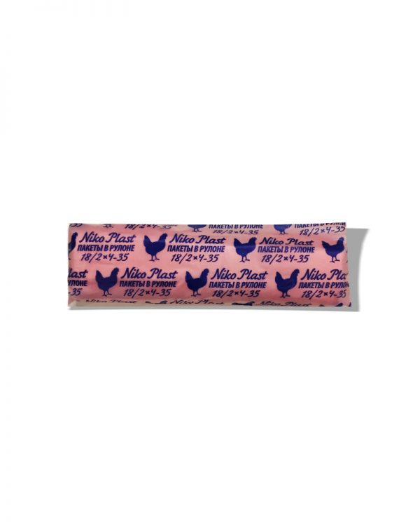 Пакеты в рулоне Niko Plast №9