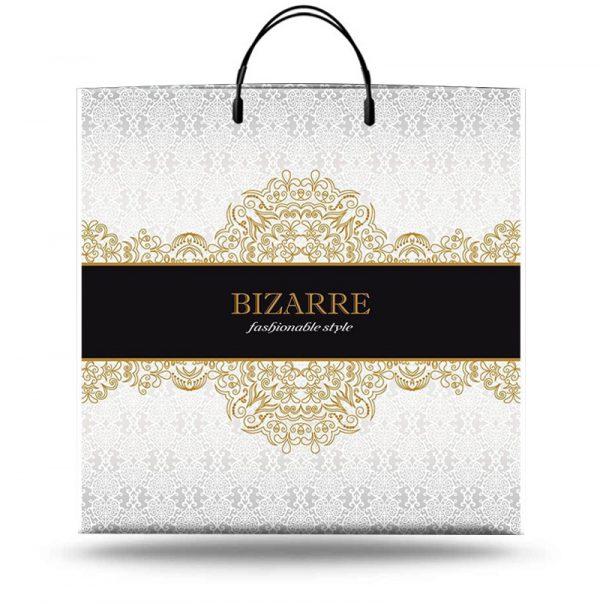 """Пакет на пластиковой ручке """"Bizzare"""" (40х40) 10 шт"""