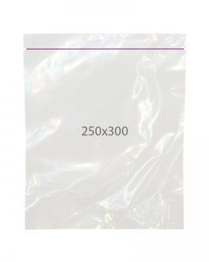 Пакет с замком zip (250х300) 100 шт