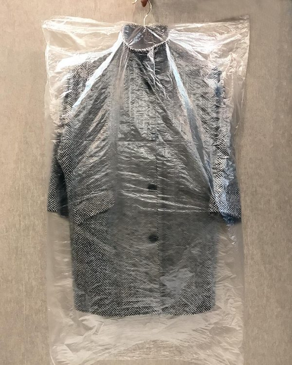 Пакет для одежды (шуршик) ПНД (63х140) 100шт 9 мкм