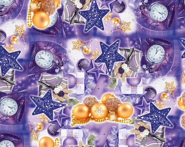 Бумага Подарочная новогодняя 18 (70х100)