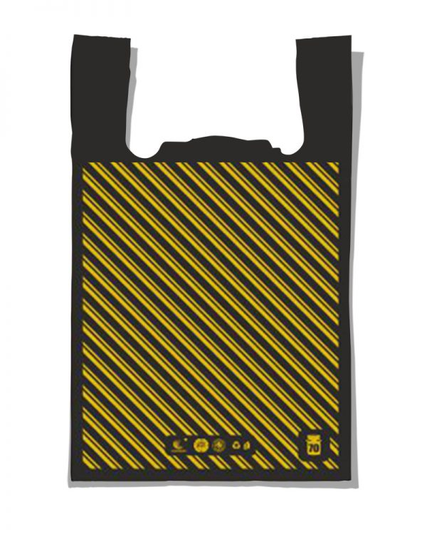 "Пакет-майка ""Диагональ №4"" Comserv (45×75) 100 шт"
