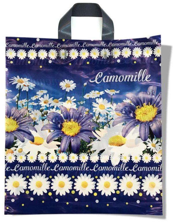 """Пакет с петлевой ручкой тип """"Диор"""" """"Camomille"""" (37х43) 25 шт"""