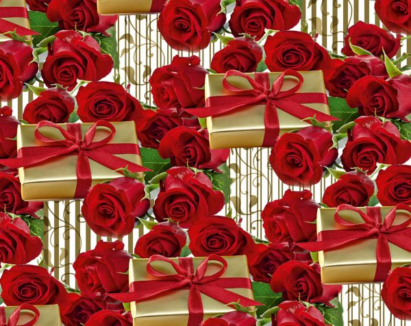 Бумага Подарочная 14 (70х100)