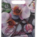 """Пакет с прорезной ручкой """"Orchid"""" (20х30) 50 шт"""