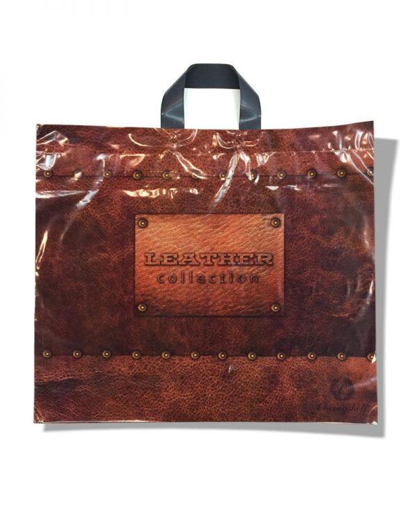 "Пакет с петлевой ручкой ""Leather"" (59х50) 25 шт"
