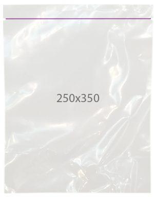 Пакет с замком zip (250х350) 100 шт