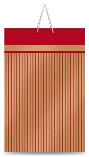 """Подарочный пакет картонный  """"БОЛЬШОЙ ВЕРТИКАЛЬНЫЙ"""" 14 (25х37х8)"""
