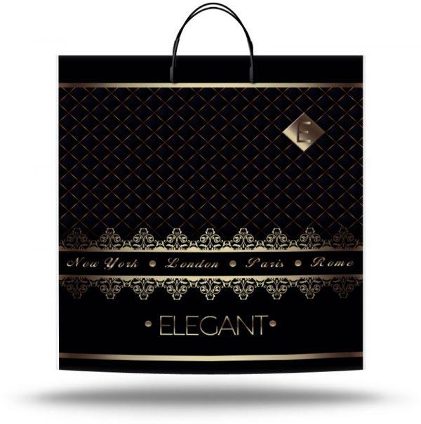 "Пакет на пластиковой ручке ""Elegant"" (40х45) 10 шт"