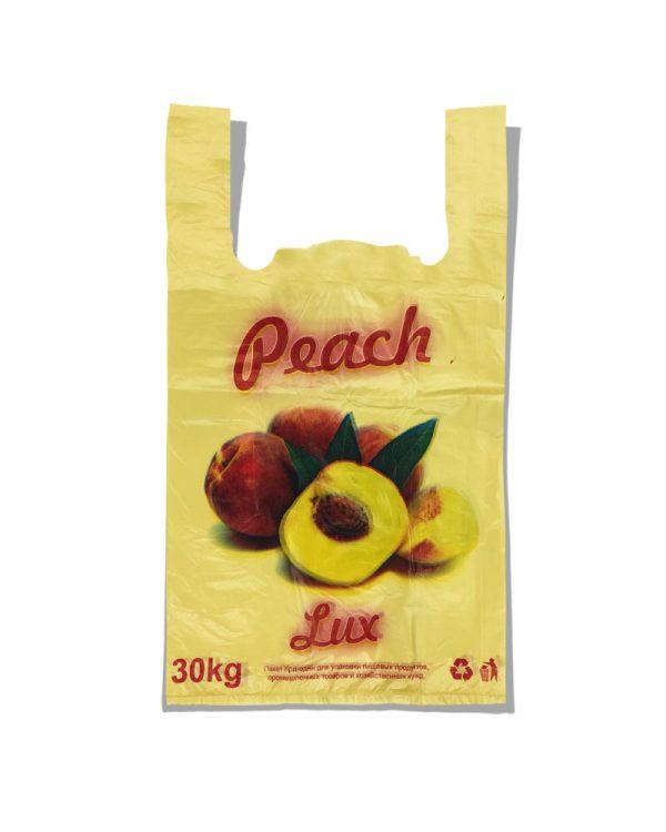 """Пакет-майка """"Peach"""" (27×45) 250 шт"""