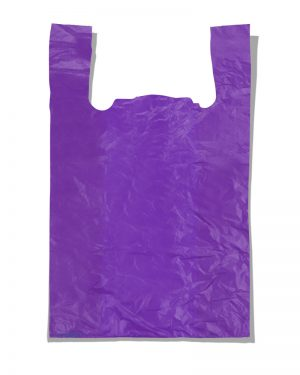 "Пакет-майка ""Супер"" Comserv фиолетовый (50×80) 100 шт"