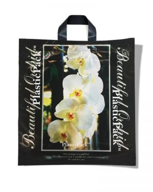 "Пакет с петлевой ручкой тип ""Наксан"" ""Beautiful Orchid"" (46х48) 25 шт"