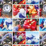 Бумага Подарочная новогодняя 114 (70х100)