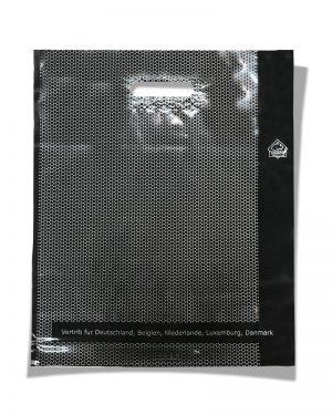 """Пакет с прорезной ручкой тип """"Serikoff"""" """"Соты"""" (45х54) 25 шт"""