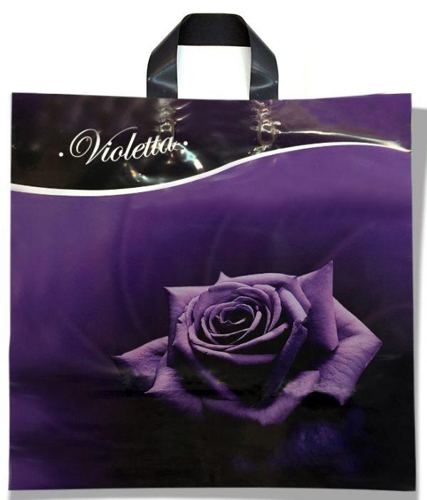 """Пакет с петлевой ручкой тип """"KVS"""" """"Violetta"""" (43х42) 25 шт"""