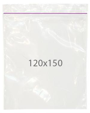 Пакет с замком zip (120х150) 100 шт