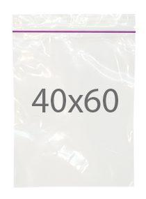 Пакет с замком zip (40х60) 100 шт
