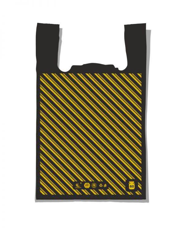 "Пакет-майка ""Диагональ №3"" Comserv (41×65) 100 шт"