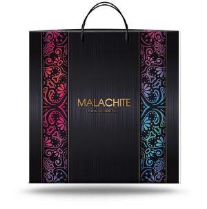 """Пакет на пластиковой ручке """"Malachite"""" (40х45) 10 шт"""