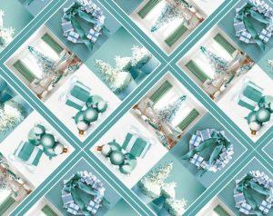 Бумага Подарочная новогодняя 102 (70х100)