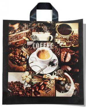 "Пакет с петлевой ручкой ""Coffee 2"" (42х44) 25 шт"