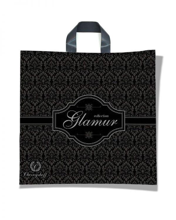 """Пакет с петлевой ручкой  """"Glamur 2"""" (40×37) 25 шт"""