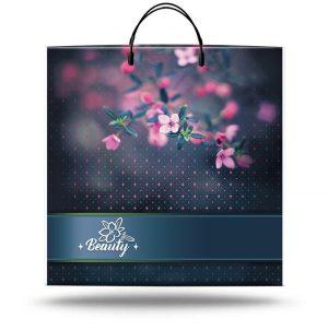 """Пакет на пластиковой ручке """"Beauty"""" (36х37) 10 шт"""