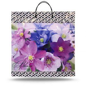 """Пакет на пластиковой ручке """"Bloom"""" (40х40) 10 шт"""