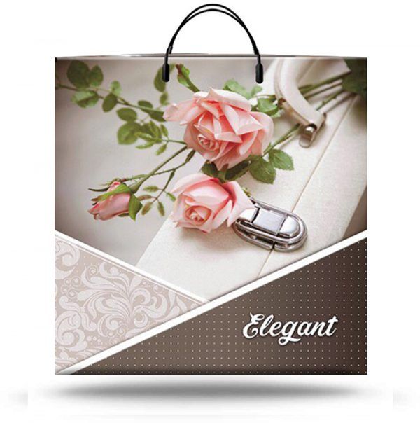 "Пакет на пластиковой ручке ""Elegant"" (40х40) 10 шт"