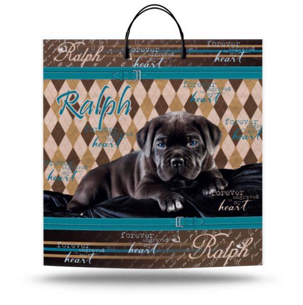 "Пакет на пластиковой ручке ""Ralph"" (40х40) 10 шт"