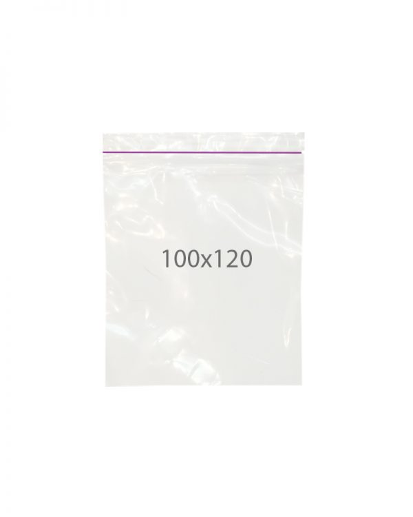 Пакет с замком zip (100х120) 100 шт