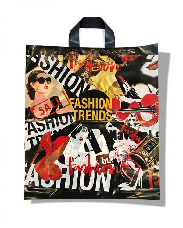"Пакет с петлевой ручкой тип ""Диор"" ""Fashion Trends"" (37х43) 25 шт"