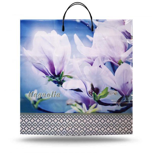 """Пакет на пластиковій ручці """"Magnolia"""" (40х40) 10 шт"""