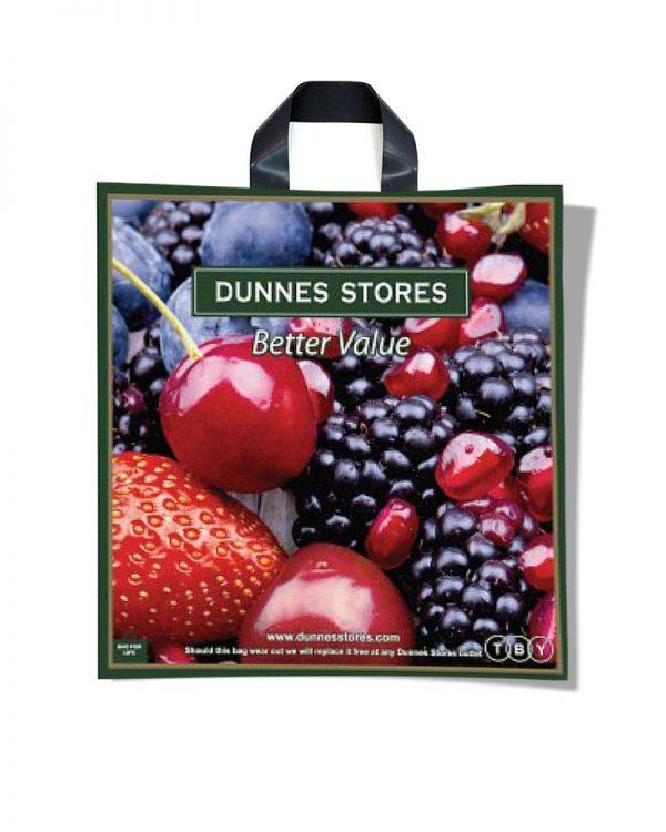 """Пакет с петлевой ручкой """"Fruit"""" (42х44) 25 шт"""