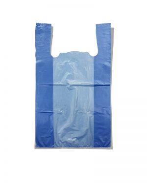 Пакет-майка без рисунка Золотое Сечение синий (28×45) 250 шт