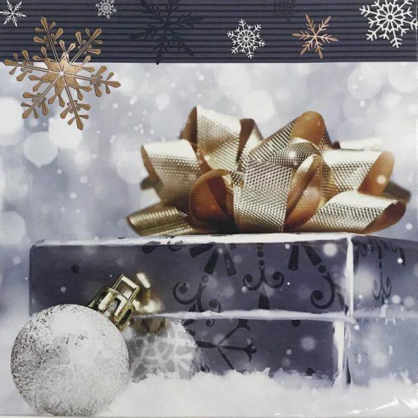 Подарочный пакет картонный «Квадрат» NGKV-01 (23х24х10)