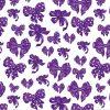 "Бумага Подарочная 17 ""Фиолетовый бантик"" (70х100)"