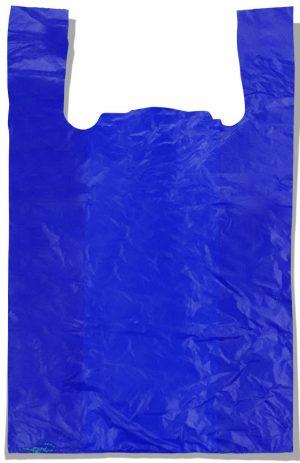 "Пакет-майка ""Супер"" Comserv синий (50×80) 100 шт"