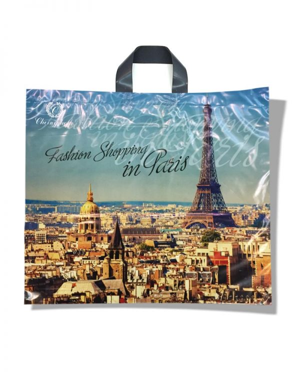 """Пакет с петлевой ручкой """"Fashion Paris"""" (59х50) 25 шт"""