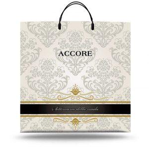 """Пакет на пластиковой ручке """"Accore"""" (40х40) 10 шт"""