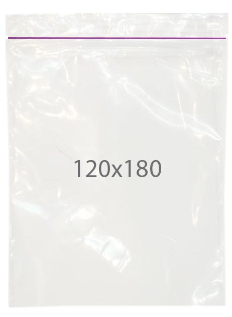 Пакет с замком zip (120х180) 100 шт
