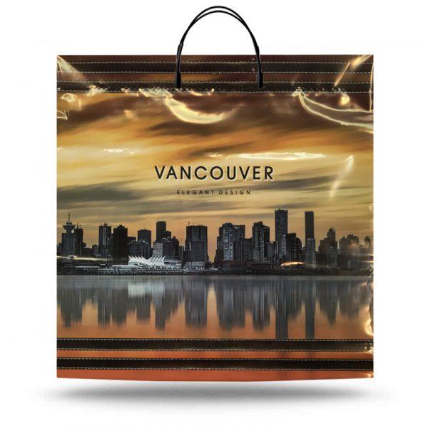 "Пакет на пластиковій ручці ""Vancouver"" (40х40) 10 шт"